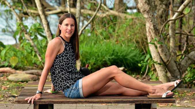 AT HOME AT NOOSA: Triathlete Radka Vodickova moved to the Coast last year.