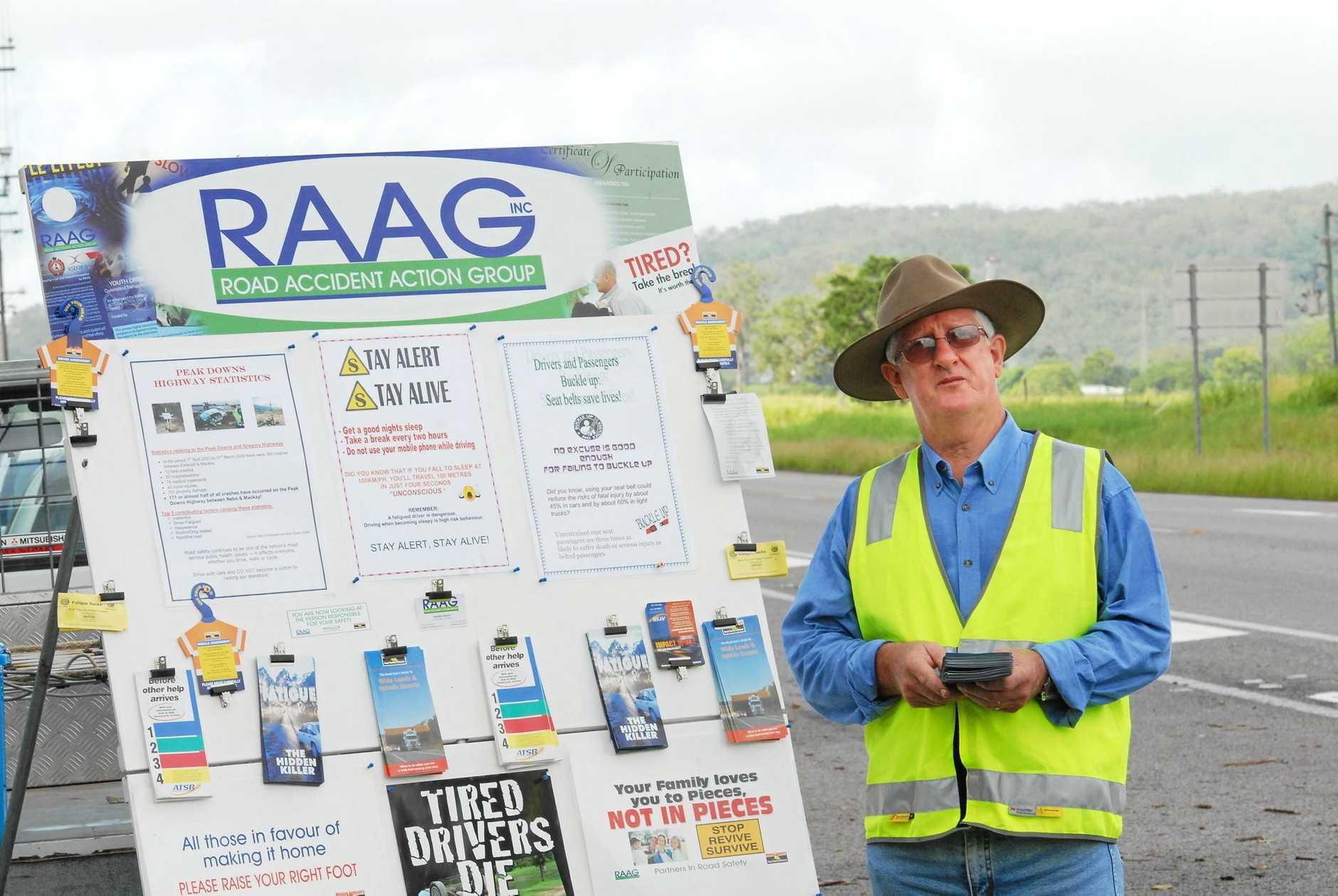 Graeme Ransley, Mackay RAAG life member.