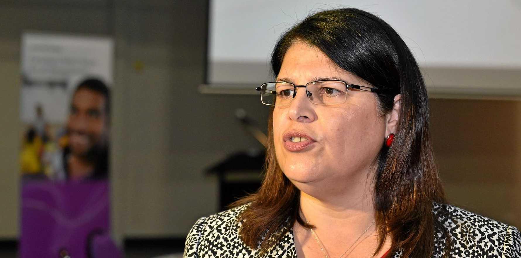 Employment Minister Grace Grace applauds Warwick businessman's challenge.