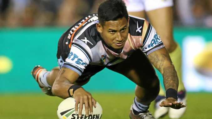DANGER MAN: Ben Barba of the Sharks will be a key figure as his side seeks to secure the minor premiership against the Storm on Saturday night.