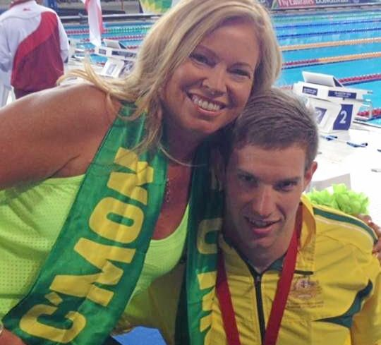 Daniel Fox with proud mum Julie.