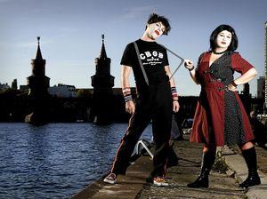 'Berlin' siblings bring rock bang and robots to Mackay