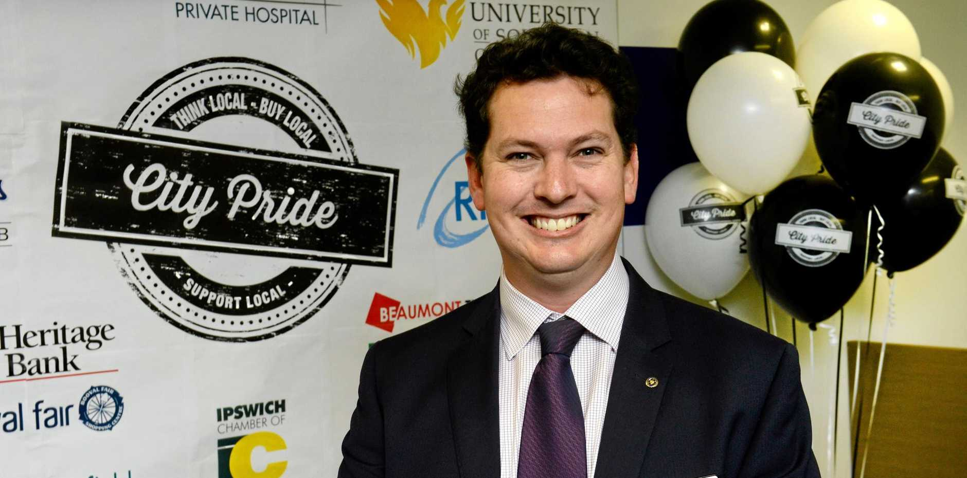 HOME GROWN: Cameron McKenzie of Australian Property Lawyers is a supporter of City Pride.