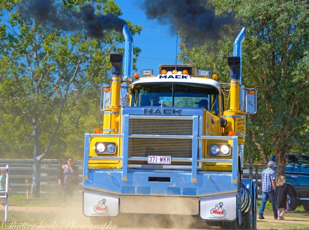 All the dust and diesel from this year's truck show...