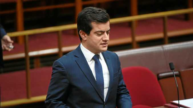 Labor Senator Sam Dastyari in the Senate at Parliament House in Canberra, Wednesday, Aug. 31, 2016. Senator Dastiyari plans to donate more than $1600 to charity after it was revealed he asked a Chinese donor to foot his bill after he exceeded his travel allowance. (AAP Image/Mick Tsikas) NO ARCHIVING