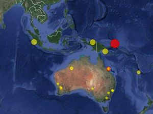 Massive 6.7 magnitude quake strikes north of Australia
