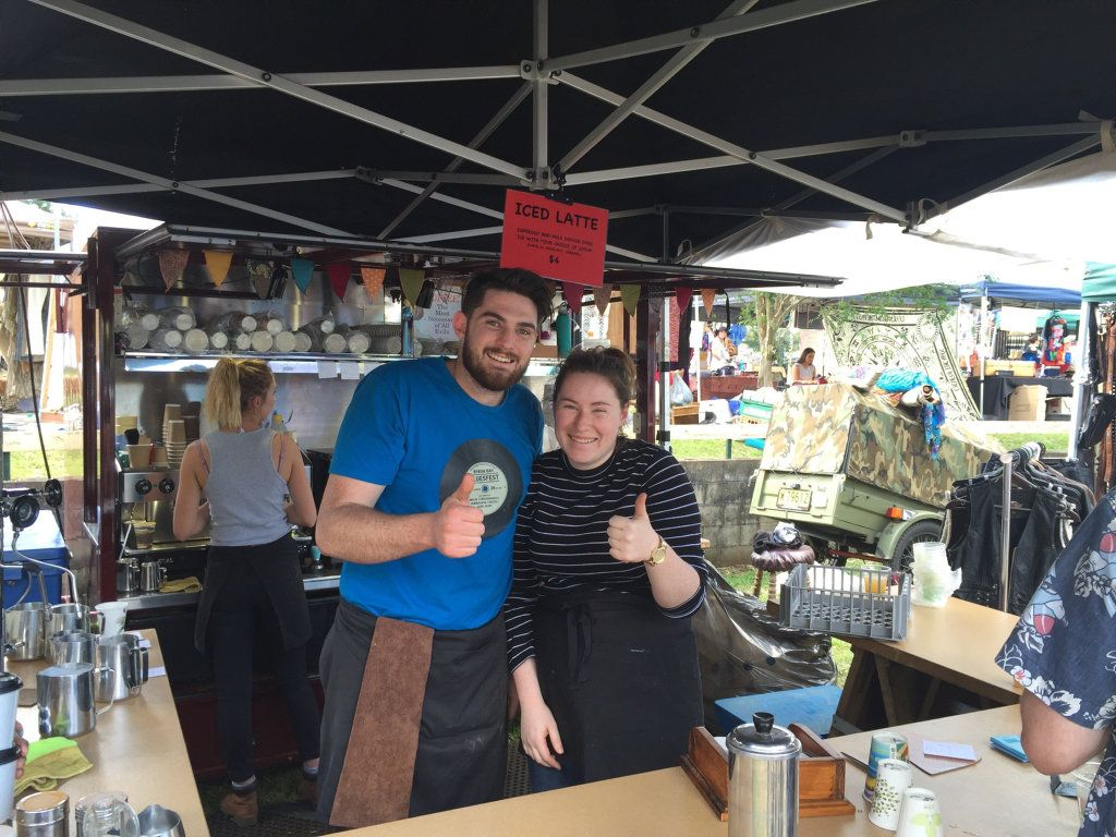 Local markets offer fresh coffee with a smile across the region.