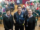 Preparing for the Super Safe Seniors Morning Tea in Zillmere are Theresa Scott, Carol Spurdle and Megan Dwyer.