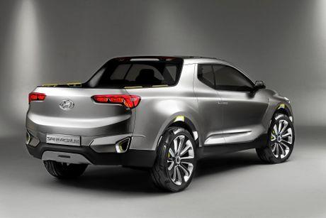 The Hyundai Santa Cruz concept ins't seen as a viable option for the Australian market.