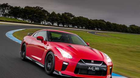 The 2017 Nissan GT-R Track Edition.