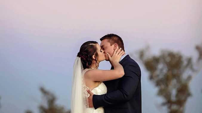 Ashleigh Kuczynski's wedding in Capella.