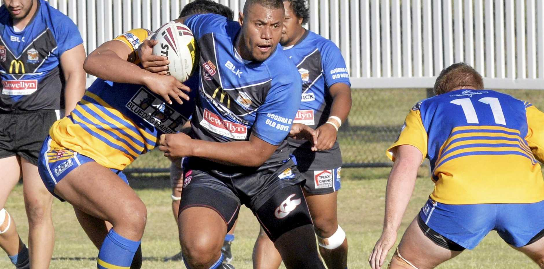 FURIOUS: Goodna Captain Ramon Filipine (pictured) has hit back after receiving a racist letter from a person claiming to be a Brothers supporter.