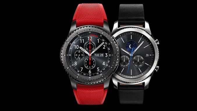 The Samsung Gear S3 Frontier edition.