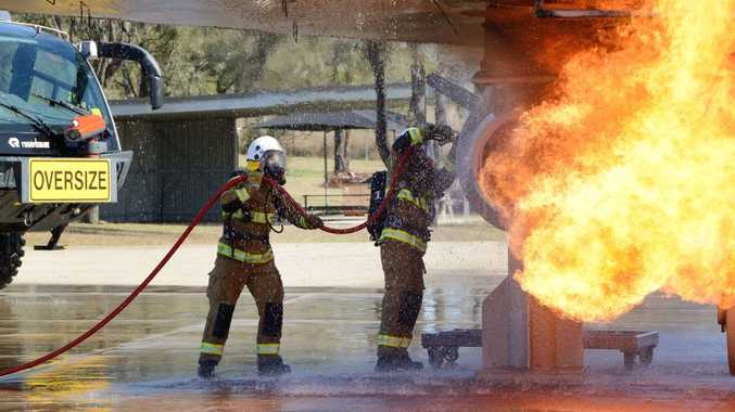 Firefighting drills may have contaminated RAAF Base Amberley and surrounding areas.