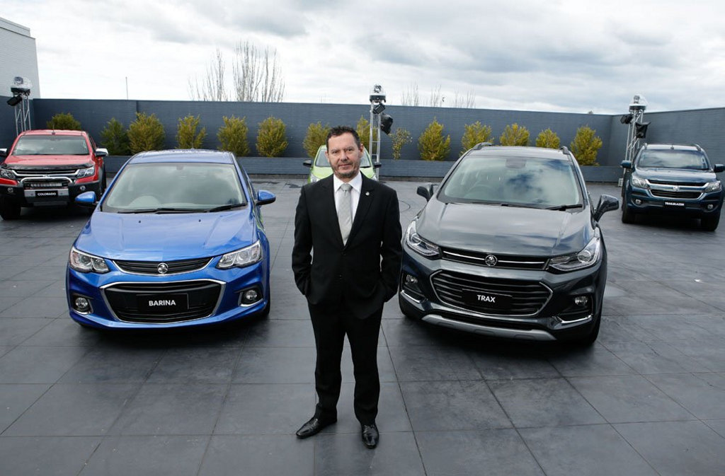 NEW FUTURE: Motoring writer Iain Curry hears Holden and its chairman Mark Bernhard (pictured) out as it admits to past mistakes and outlines a more dynamic, inclusive and caring future
