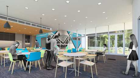 The dining area at the planned hospital. Photo Contributed