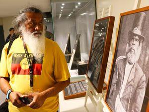 Aboriginal breastplate exhibition at Tweed Museum