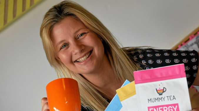 TREND SETTER: Owner of Sunshine Coast business Mummy Tea, Bec Kennedy, spends the majority of her week using digital tools.