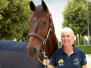 Oldest Aussie Olympian is trotting towards Tokyo