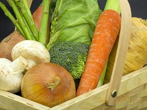 A harvest of fresh local produce every Saturday