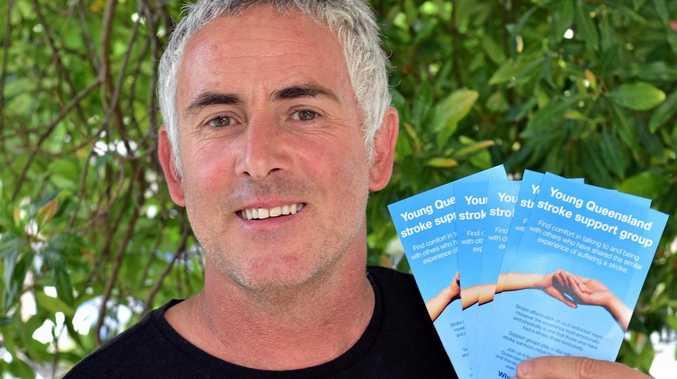 SURVIVOR: Chris Kay has devoted himself to helping fellow stroke survivors.