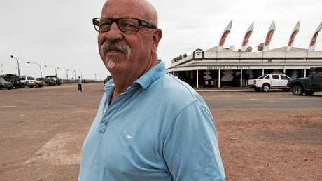 Birdsville races volunteer Gary Lapham.