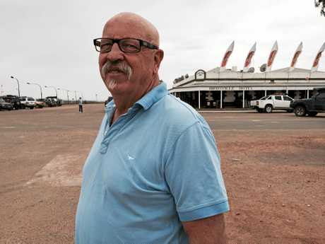 Birdsville races volunteer Gary Lapham.