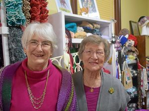 Talking shop with the crafty ladies at Wattle Doo