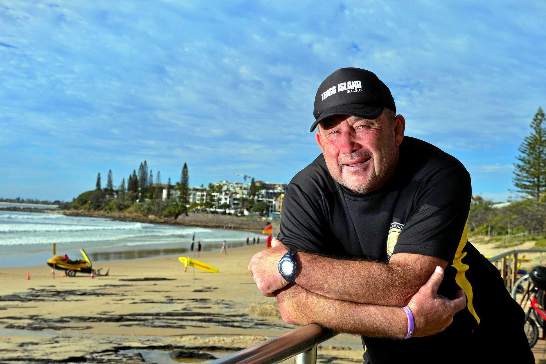 Ashley Robinson at Alexandra Headland Surf Club.  Photo: John McCutcheon / Sunshine Coast Daily