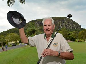 Golfer loses drive after marathon 70 years of playing