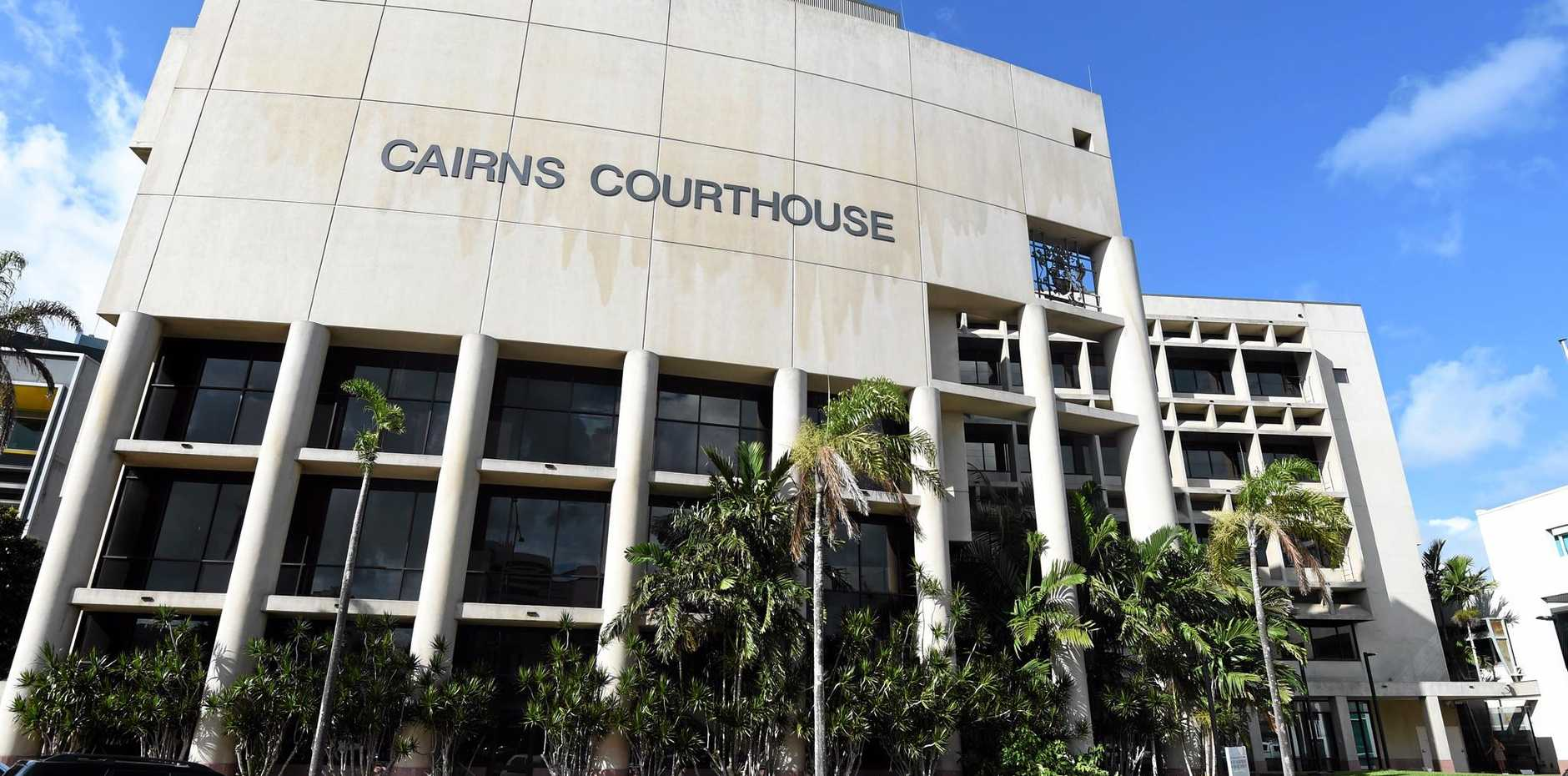 A street view of the Cairns Courthouse, Monday, Dec. 22, 2014. 37-year-old Mersane Warria was excused from appearing in court today after she was charged with the murder of eight children including seven of her own and a niece, at her house on Friday, December 19. (AAP Image/Dan Peled) NO ARCHIVING