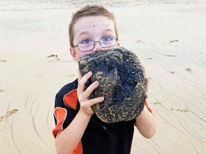 More coal found on beaches, but from where?