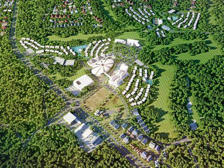 Construction has not begun on Dusit Thani resort.