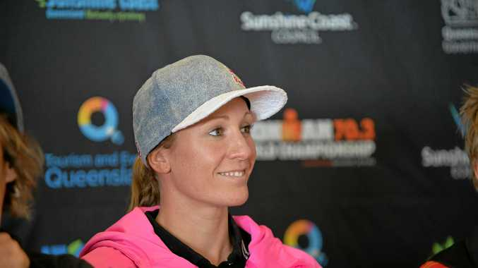 TARGET: Daniela Ryf is the favourite to take out tomorrow's World Championship at Mooloolaba.