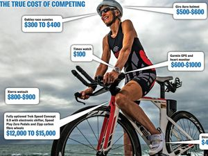 Ticket to ride doesn't come cheap for ultra athletes