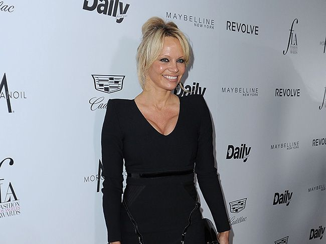Actor and activist Pamela Anderson.