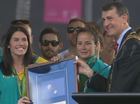 Olympians honoured in Brisbane parade