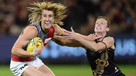 Dyson Heppell is expected to take over the captaincy from Jobe Watson at Essendon.