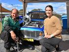 Phil Penny turned his everyday car in to a street racer. He is picture with Ashley Cooper.