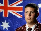 FUTURE PM: Ipswich Grammar School student Wyatt Cook-Revell has what it takes to lead the nation one day.