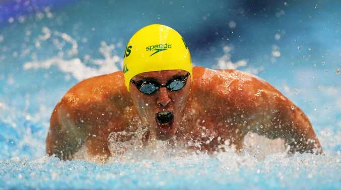 IN AT THE DEEP END: Brenden Hall is part of Australia's Paralympic swimming team.