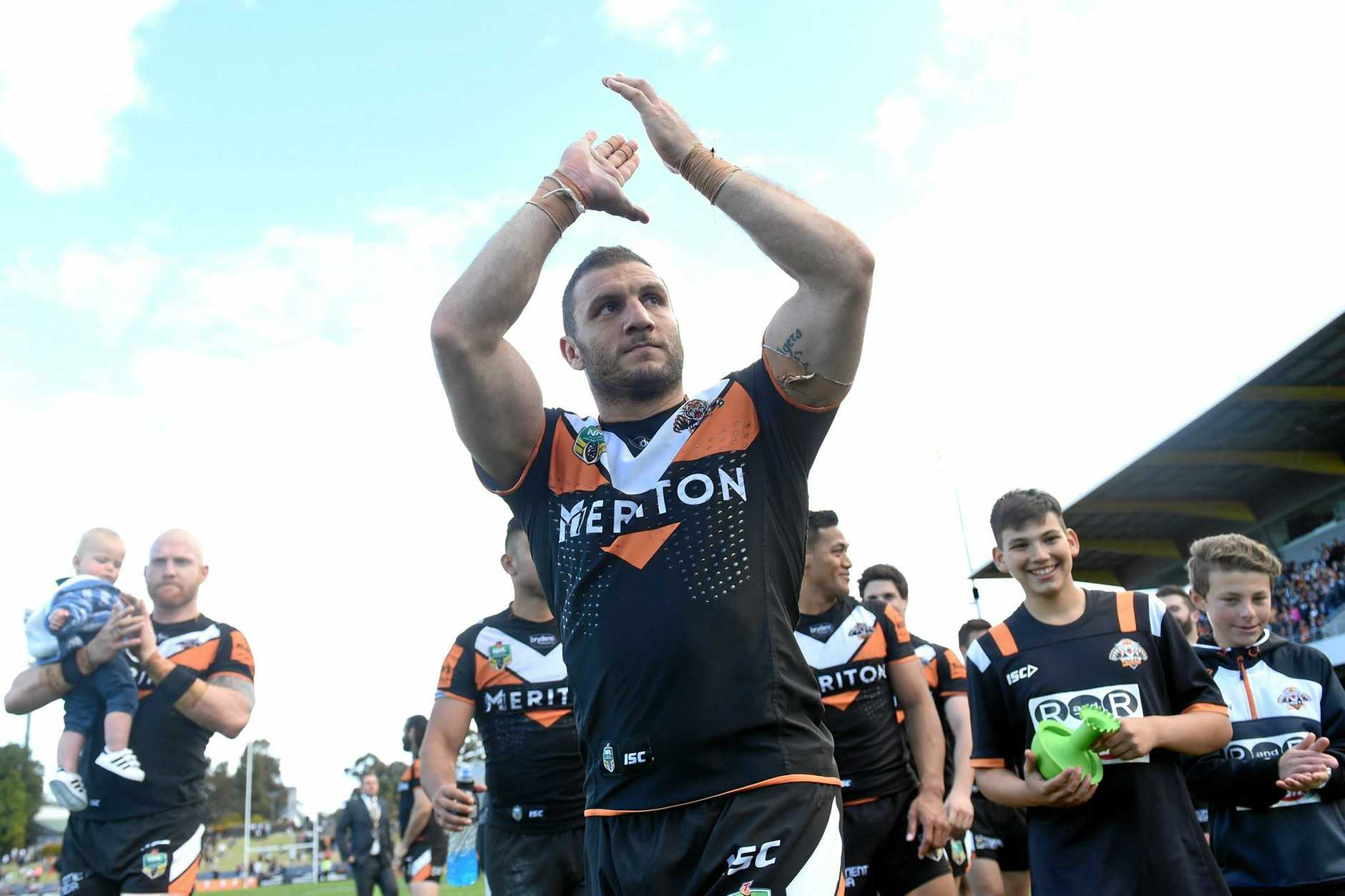Robbie Farah of the Tigers