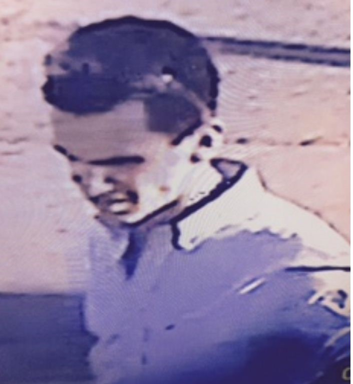 Police have released this image of a man accused of trying to steal two cars.