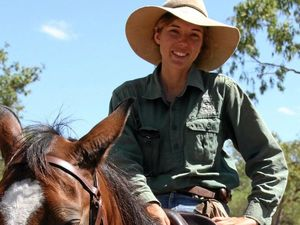 22-year-old stockwoman talks of life on remote 37,000ha station