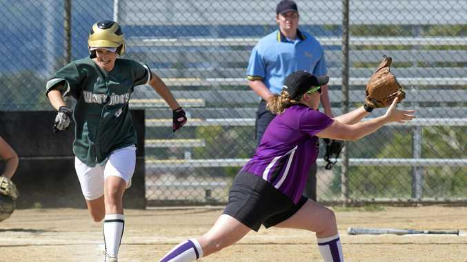 IN ACTION: Toowoomba player Deanna Bloomfield.