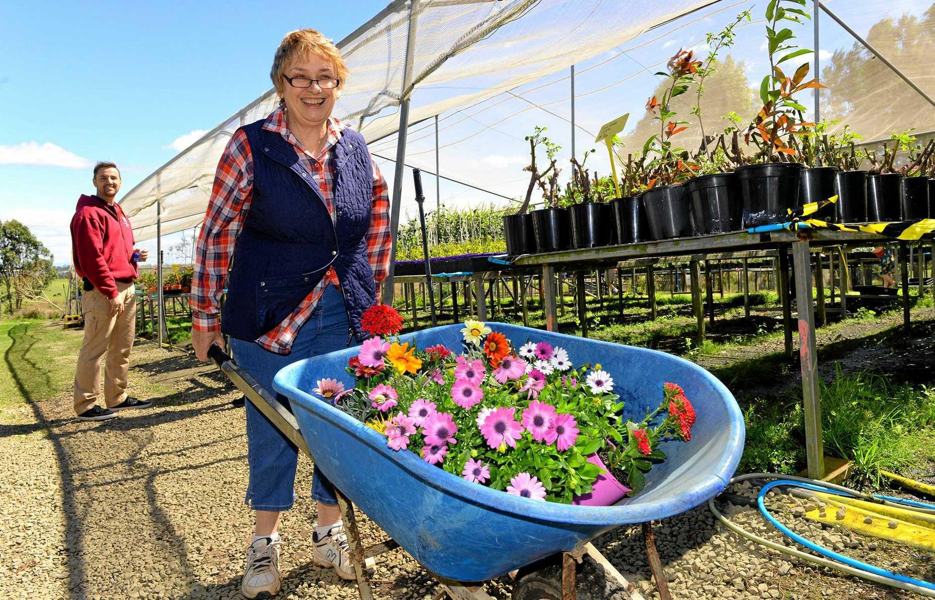 Carmel Crimean at the Watch Them Grow nursery open day on Saturday.