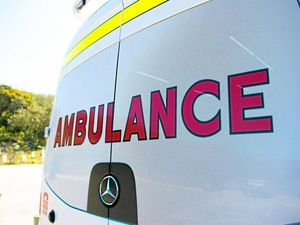 Motorcyclist critical after crash with car