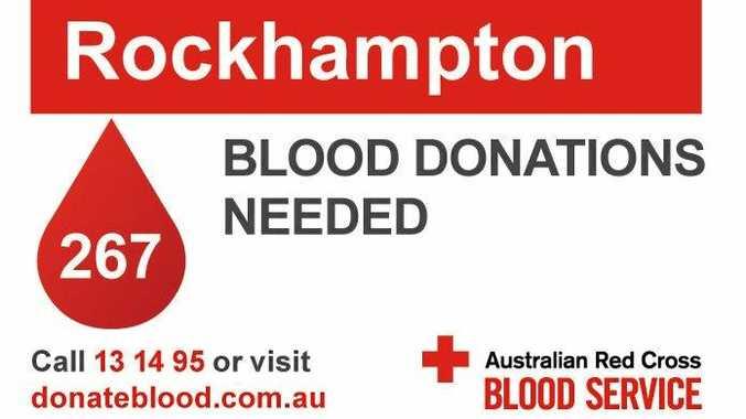 blood donation mackay