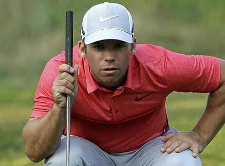Paul Casey shot an eight-under 62. (AP Photo/Steven Senne)