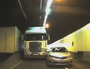 DASHCAM: How not to merge in a tunnel